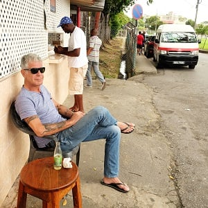 Liming in Trinidad Anthony Bourdain
