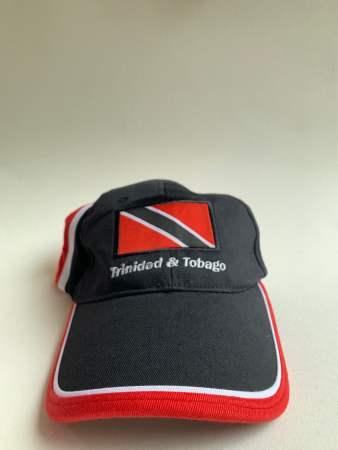 Red White Black Baseball Cap