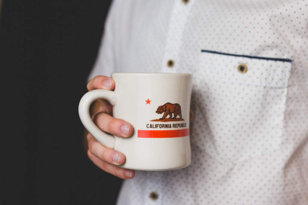 California Coffee Cup