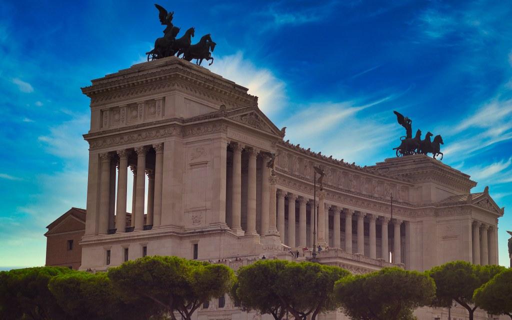 Piazza Venezia, Roma Italia