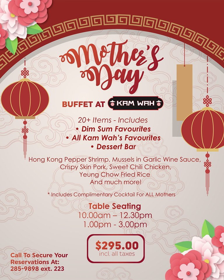 Kam Wah's Mother's Day Buffet – D'Junction