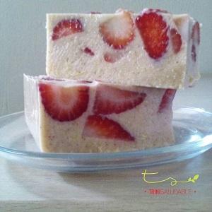 ricotta con fresas