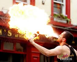 Fire-eater Dublin