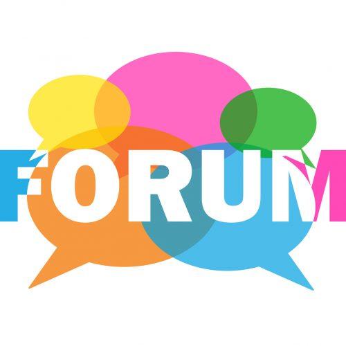 gambar forum diskusi