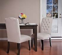chairs at table