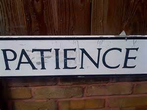 Caregiving Monday: The Loss of Patience