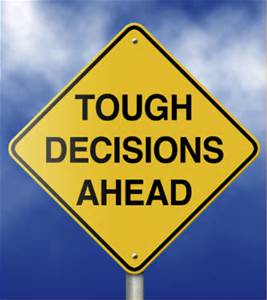 Transitional Friday: 10 Steps to Making a Decision