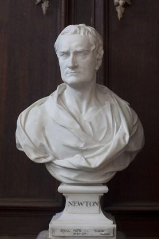 Sir Isaac Newton by Roubiliac