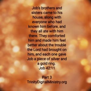 Job 42:11 image