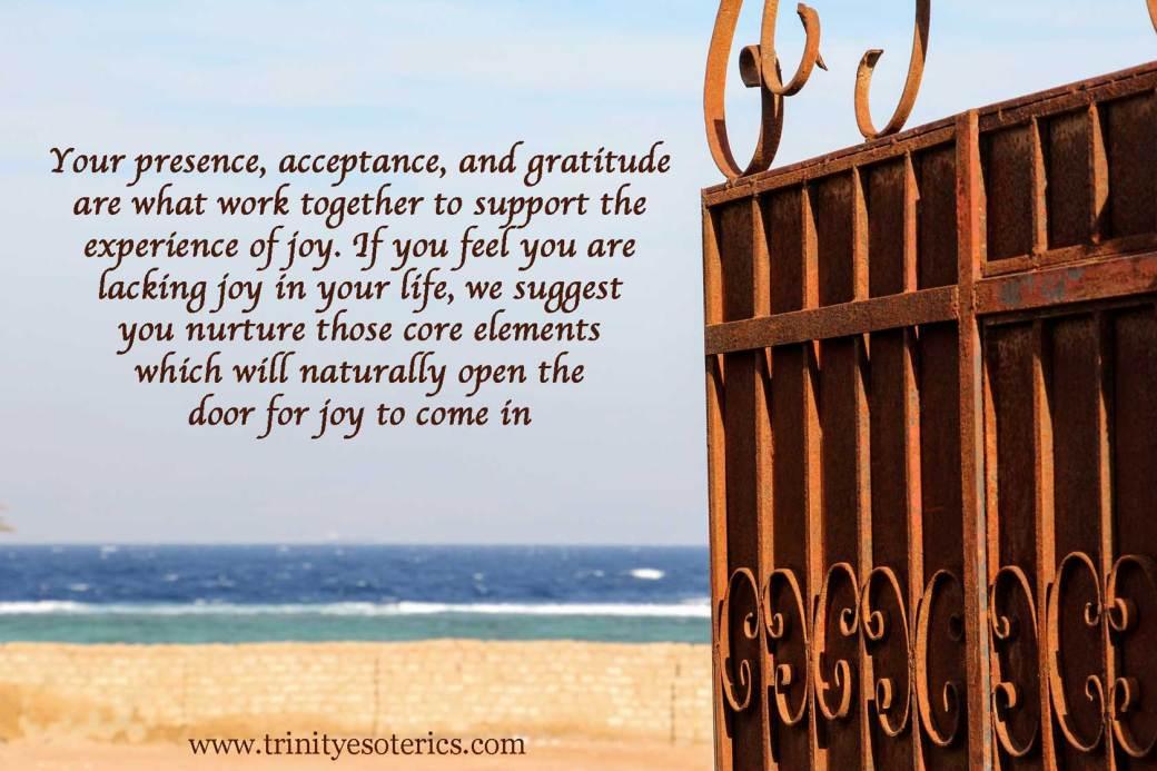 open gate onto beach trinity esoterics