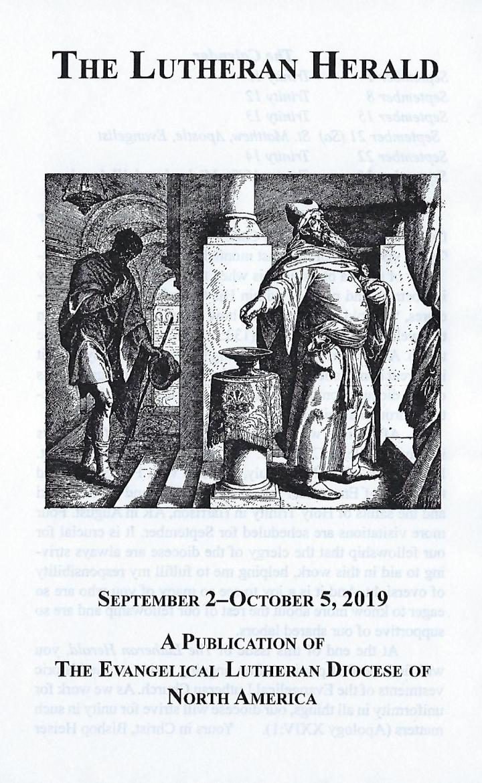 Lutheran Herald Sept 2 2019