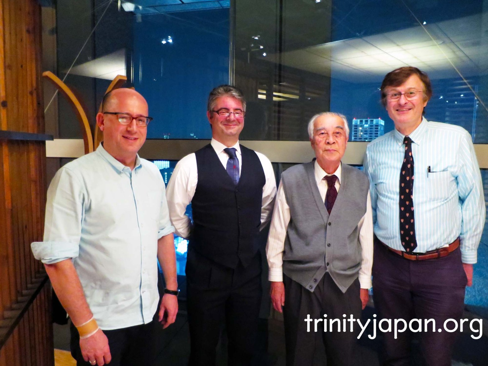 4th Trinity in Japan Society meeting in Tokyo on Friday 30 October 2015