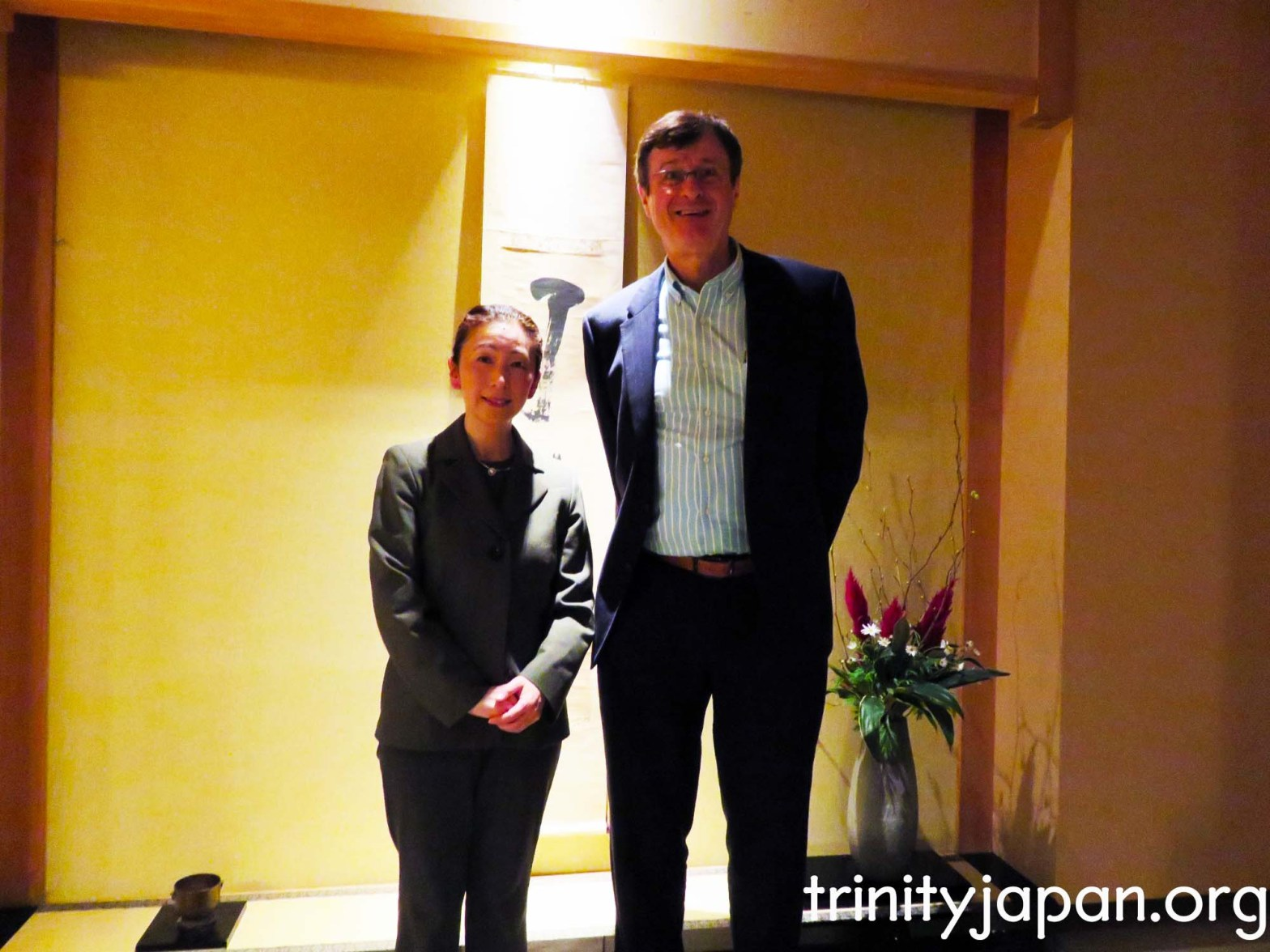Trinity in Japan meeting in Osaka, 7 December 2015