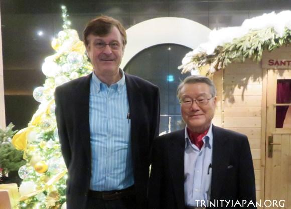 Trinity in Japan Meeting with Ambassador Ra (13 December 2016)