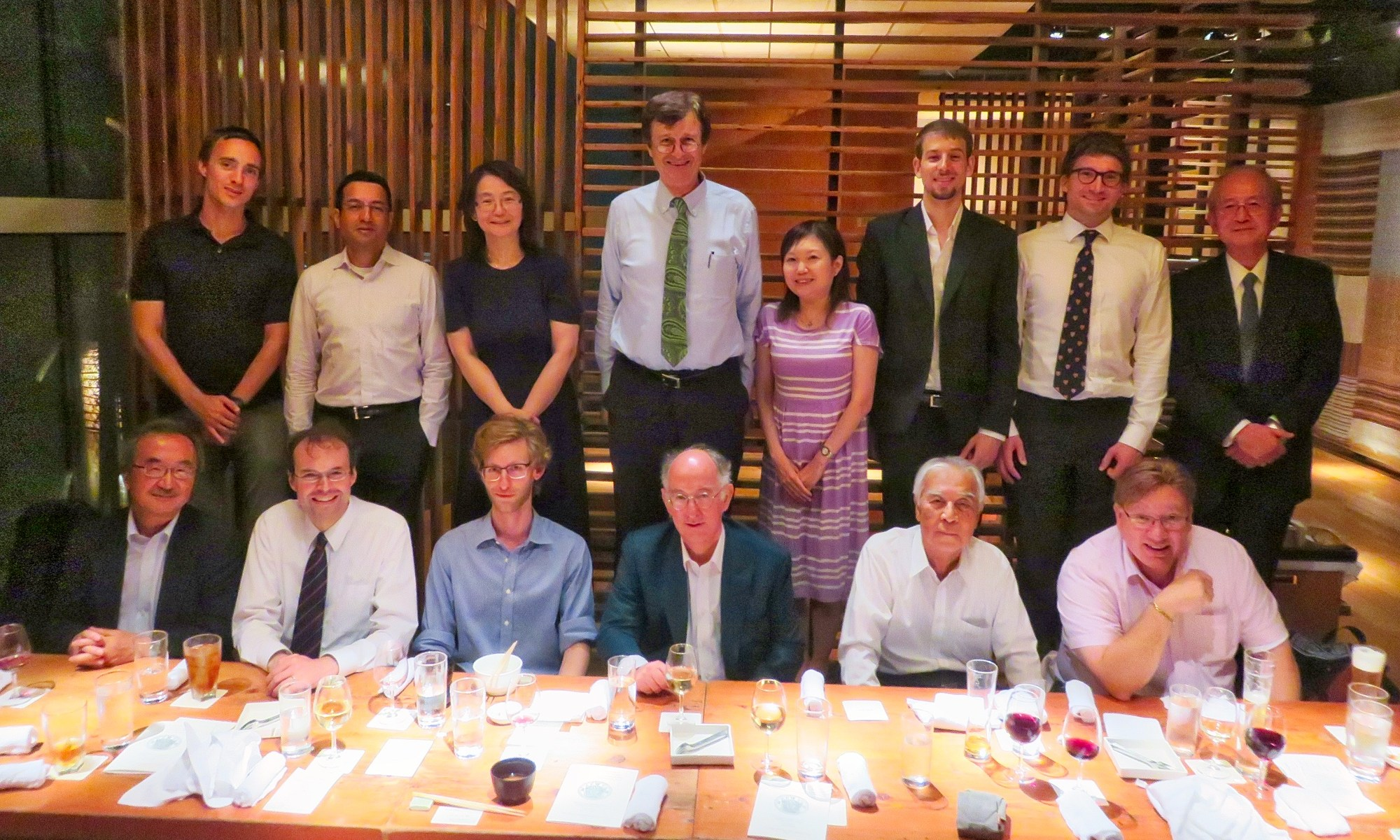 Trinity in Japan special event in Tokyo Friday 8 September 2017 with Fellows and Professors Mikael Adolphson, Sachiko Kusukawa and Dominic Lieven
