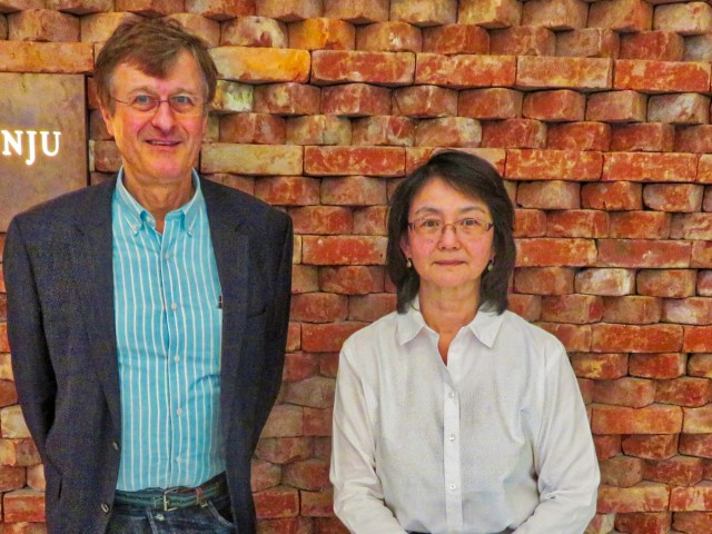 Sachiko Kusukawa and Gerhard Fasol meeting on 27 March 2018