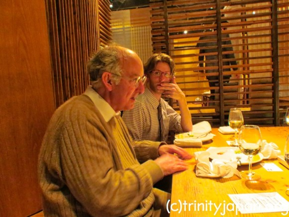 Trinity in Japan meeting in Tokyo Friday 20 April 2018 at 7pm with Senior Research Fellow Dominic Lieven