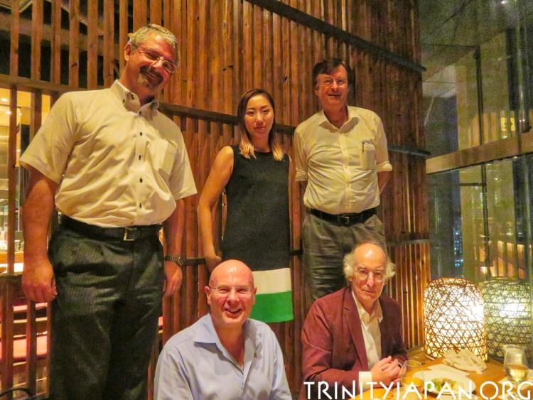 Trinity in Japan meeting in Tokyo Friday 31 August 2018