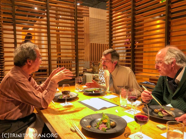 Trinity in Japan meeting Thursday 4 April 2019 at 7pm in Tokyo with Professor Dominic Lieven