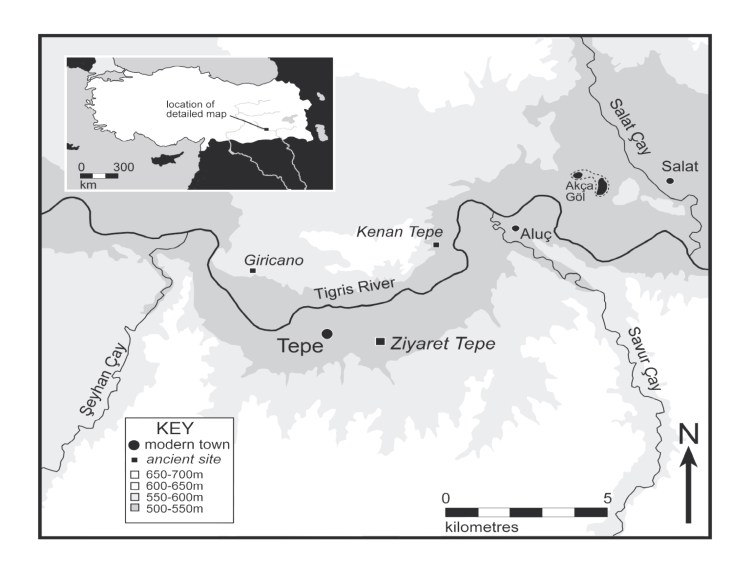 John MacGinnis: Ziyaret Tepe, Tushan - an Assyrian provincial capital and garrison town from 882 to 611 BC