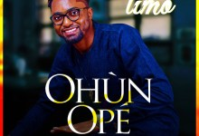 "Anticipate Album:- ""Ohun Ope"" By Timo 8"