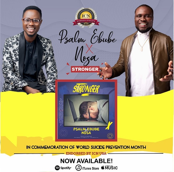 New Music:-''Stronger'' By Psalm Ebube Ft. Nosa || Trinity Media 1