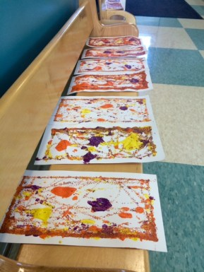 Masterpieces to dry