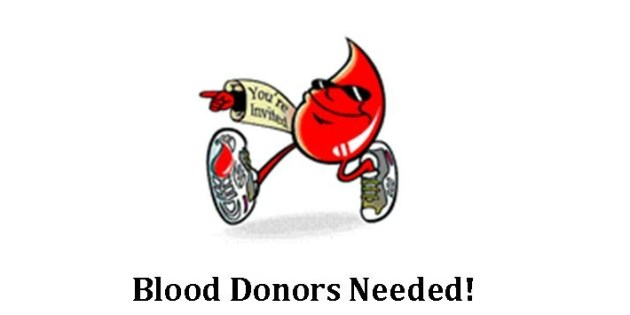 Blood Drive To Be Held At Trinity