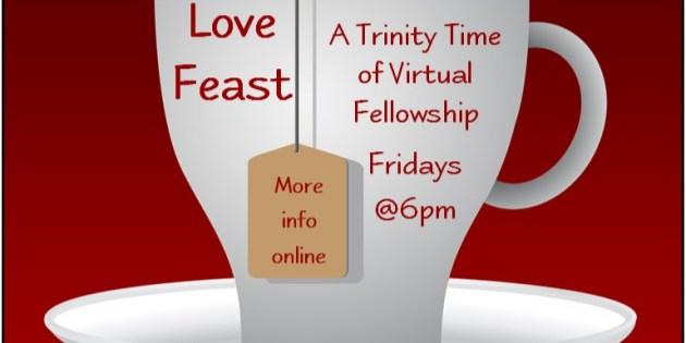 "Friday evening Zoom ""gathering"" for A Meal With Jesus:"
