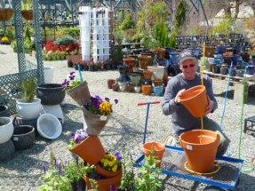 Bert building crazy pot stacks