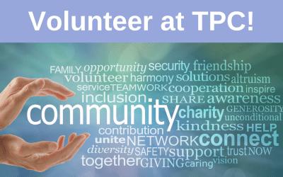Volunteer at TPC!