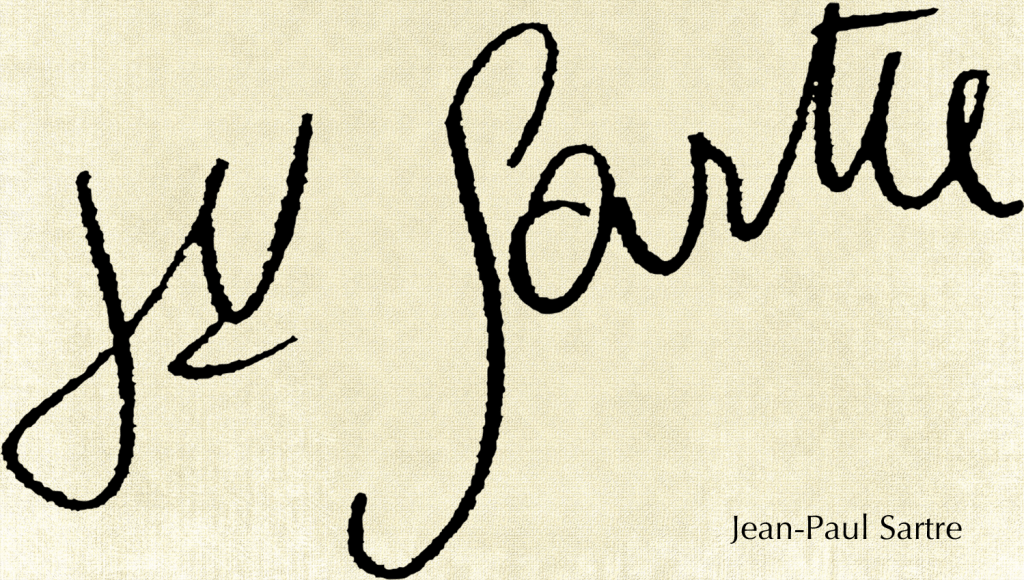 jean-paul-sartre-signature