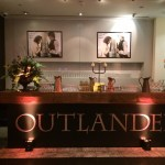 Outlander TV show series 3 screening bar cladding
