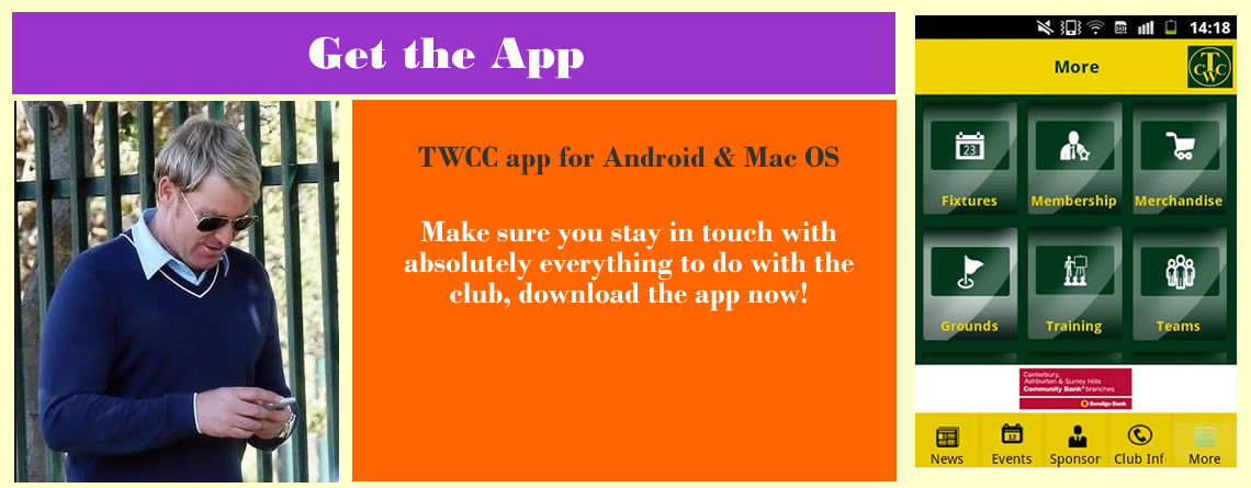 TWCC App for Android & Mac OS Devices