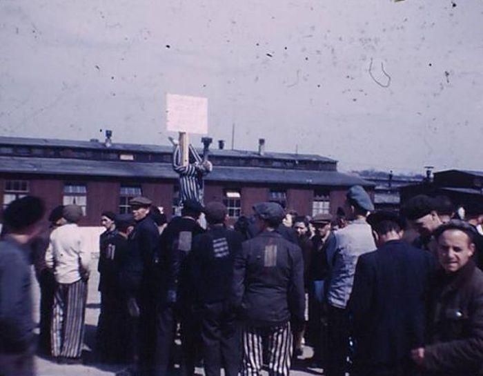 Des images d'archives du camp de concentration de Buchenwald (10 photos)