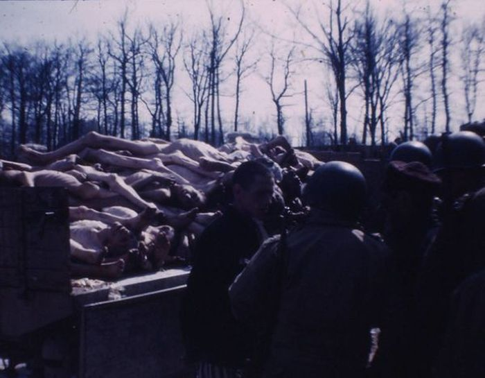 Des images d'archives du camp de concentration de Buchenwald (10 photos)