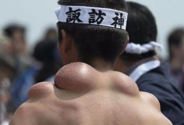 Sanja Matsuri Festivali ve Türbe Taşıyıcalar (6 Fotograf)