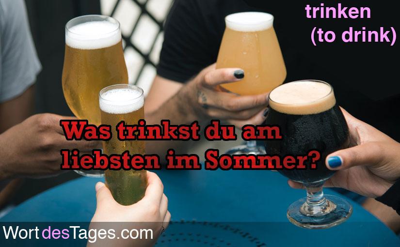 Was trinkst du am liebsten im Sommer?