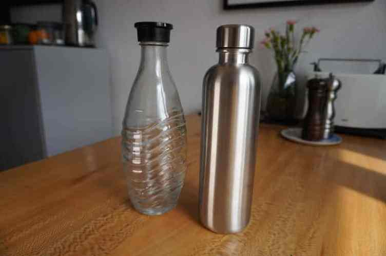 Mate of Steel vs. SodaStream Crystal Glasflasche