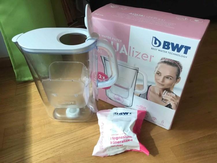 BWT AQUAlizer Tischwasserfilter Test Lieferumfang