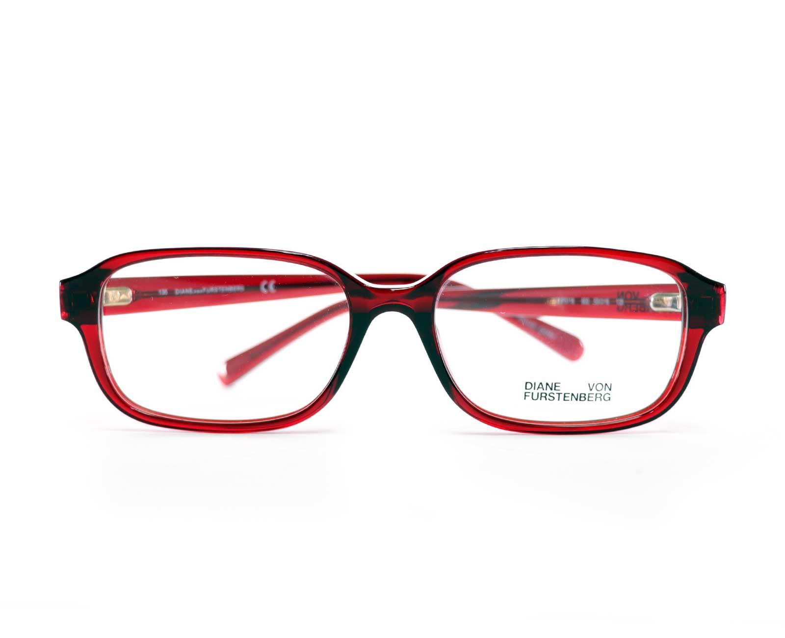 Diane Von Furstenberg DVF5118 in Red Crystal