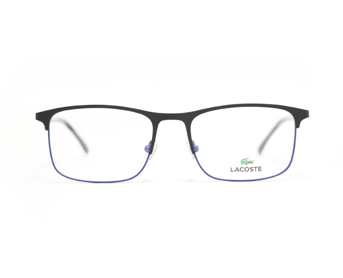 Lacoste L2252 in Matte Black Blue