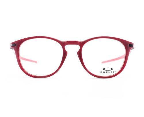 Oakley Pitchman R Ember Collection in Satin Brick Red
