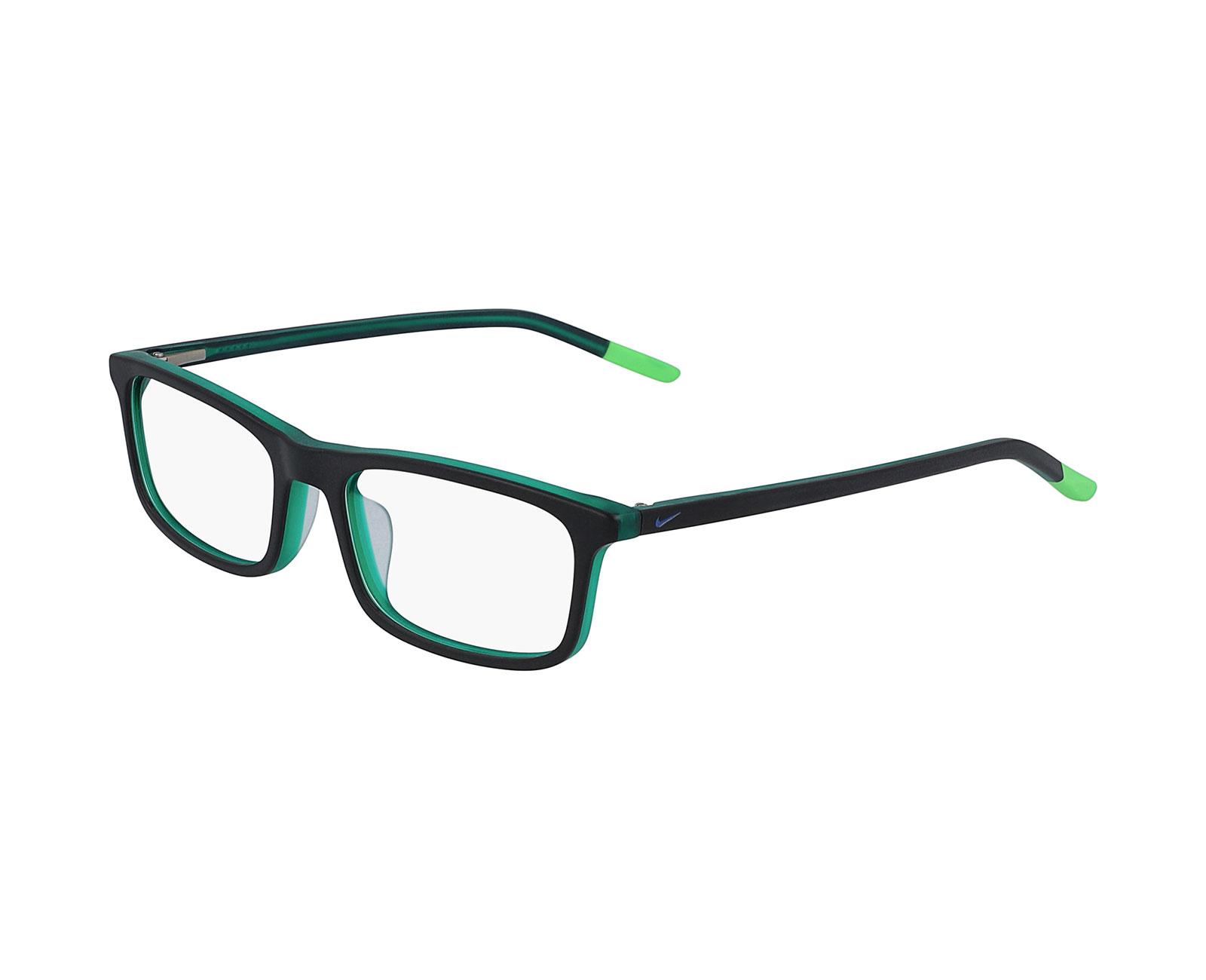 Nike 5540 in Matte Black/Electric Green