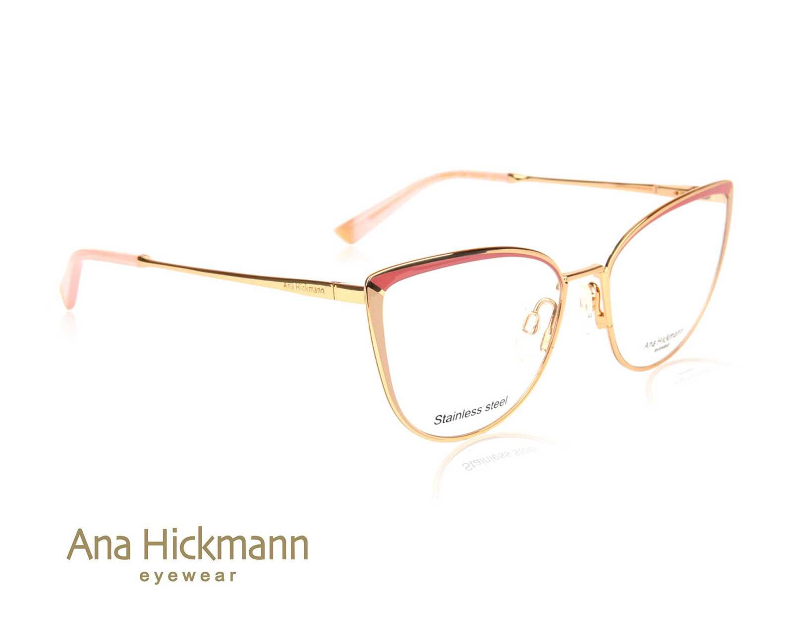 Ana Hickmann AH1374 in Gold/Taro Milk/Shiny Brown Pink
