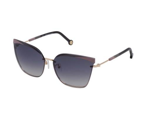 Carolina Herrera SHE147 Smoke Gradient Black