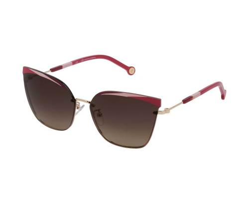 Carolina Herrera SHE147 in Brown Gradient Pink
