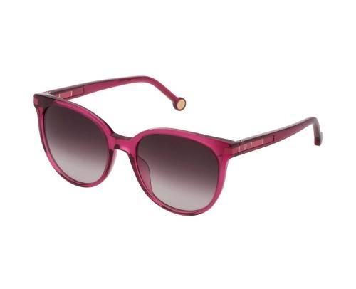 Carolina Herrera SHE830-01BV in Brown Gradient Pink