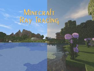 Minecraft RTX comparison