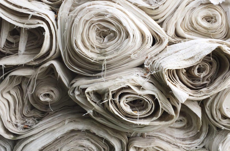 Rouleaux de tissus - Choix des matières premières